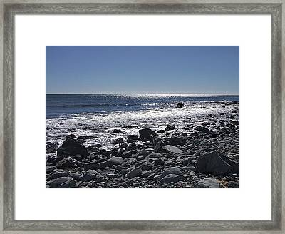 All That Glitters Framed Print by George Cousins