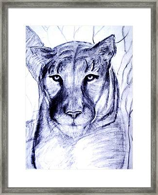 All That Is Sweet And Wild Framed Print