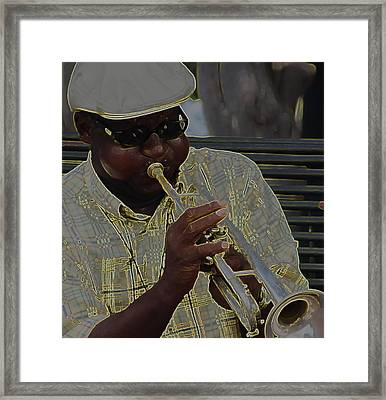All That Jazz Framed Print by Greg Thiemeyer