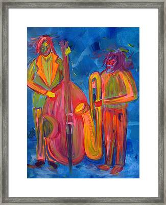 All That Jazz Framed Print