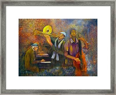 All That Jazz Framed Print by Loretta Luglio