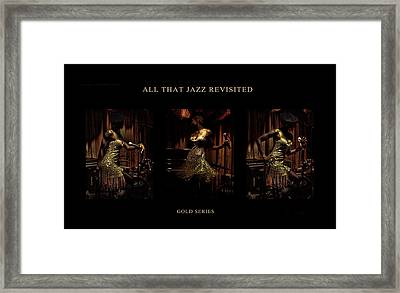 All That Jazz Revisited Framed Print by Jerome Holmes