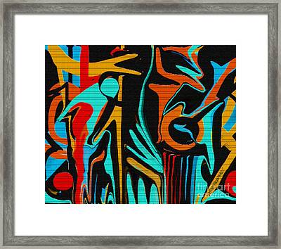 All That Jazz Framed Print by Sherri's Of Palm Springs