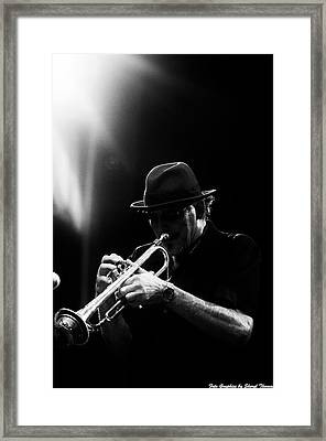 All That Jazz Framed Print by Sheryl Thomas