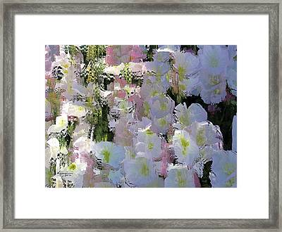 All The Flower Petals In This World Framed Print by Kume Bryant