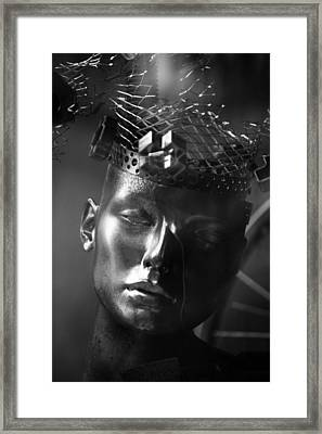 All The Love I Had Inside Me Has Faded Framed Print by Jez C Self