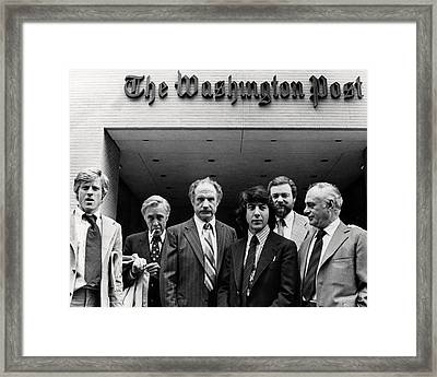 All The President's Men  Framed Print by Silver Screen