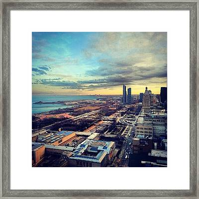 All The Snow Is Gone Framed Print