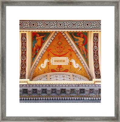 All The World Is A Stage Framed Print