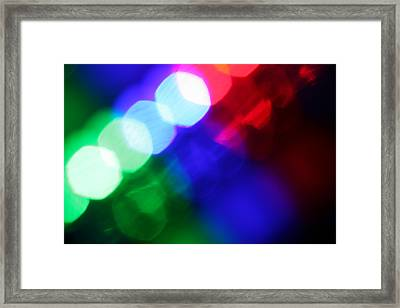 All The World's A Stage Framed Print by Dazzle Zazz