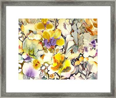 All Things Bright And Beautiful Framed Print by Neela Pushparaj