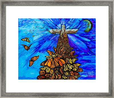 All Things Made New Framed Print by Laurie Henry