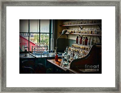 All Those Chemicals Framed Print