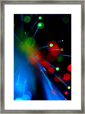 All Through The Night Framed Print