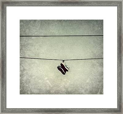 Framed Print featuring the photograph All Tied Up by Melanie Lankford Photography