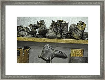 All To Repair Framed Print by Jan Amiss Photography