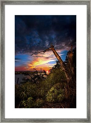 All Trails End Framed Print by Mark Andrew Thomas