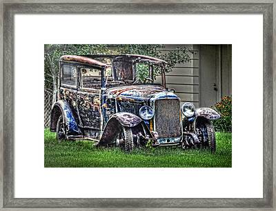 All Tuckered Out Framed Print by Ken Smith