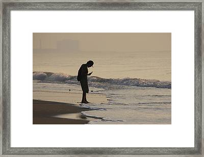 All Tuned In Framed Print by Vadim Levin