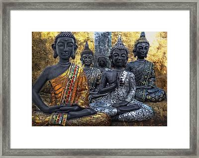 All U Buddhas Framed Print by Joachim G Pinkawa
