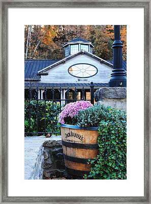 All Visitors Welcome Framed Print