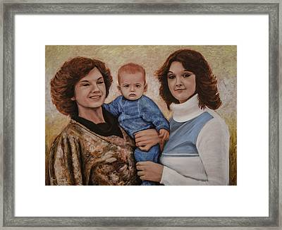 All We Know Of Heaven Framed Print by Ron Richard Baviello