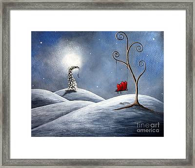 All We Need For Christmas By Shawna Erback Framed Print by Shawna Erback