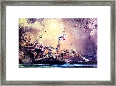All We Want To Be Are Dreamers Framed Print by Cameron Gray