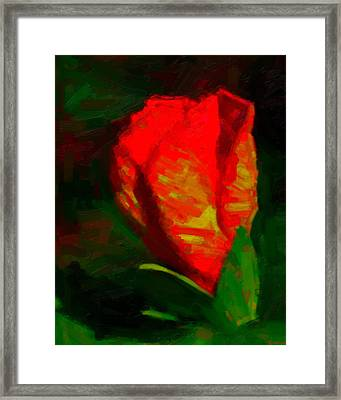 Framed Print featuring the painting All Went Wrong by Joe Misrasi