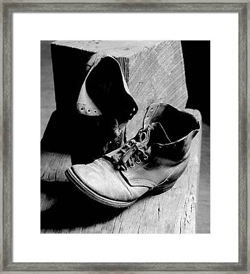 All Worn Out Framed Print by EG Kight