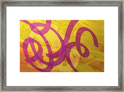 All Wound Up Framed Print by Naomi Jacobs