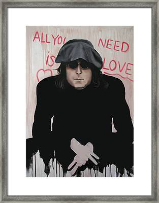 All You Need Is Love Framed Print by Anthony Falbo