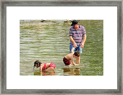 All You Need Is Love Framed Print by Tami Quigley