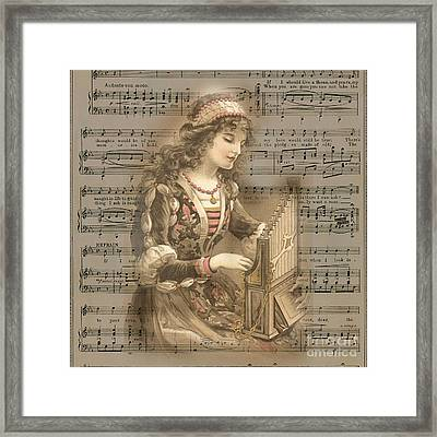 All You Want Is Music Framed Print
