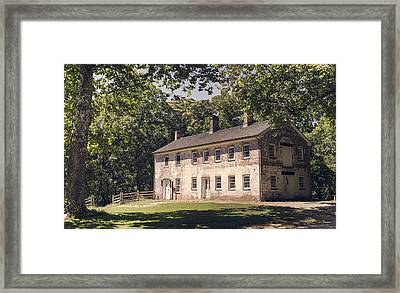 Allaire Carpentry Shop Framed Print