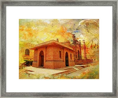 Allama Iqbal Tomb Framed Print by Catf
