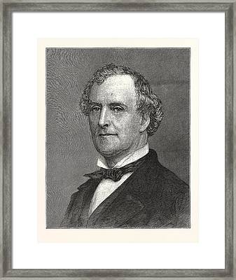Allan Campbell, Comptroller Of New York Framed Print by American School