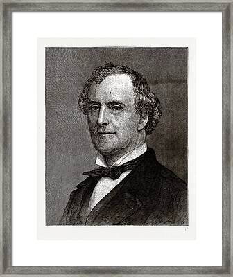 Allan Campbell, The Comptroller Of New York Framed Print by Litz Collection