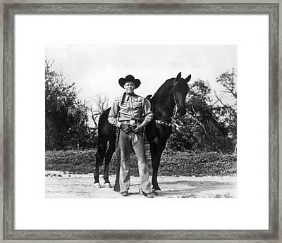 Allan Rocky Lane Framed Print