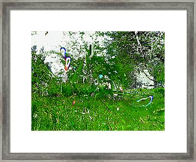Allandthought Framed Print by Immo Jalass