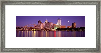 Allegheny River, Pittsburgh Framed Print by Panoramic Images