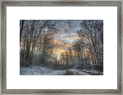 Allegheny Road Framed Print