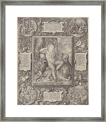 Allegorie On The Complexity Of The Human Framed Print