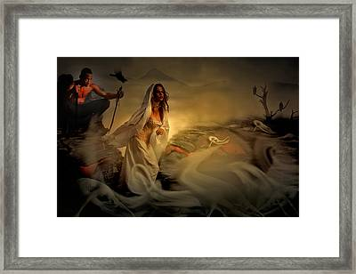 Allegory Fantasy Art Framed Print