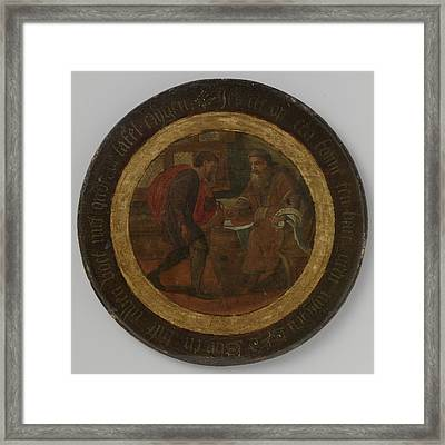 Allegory Of The Cooperage, Anonymous Framed Print by Litz Collection