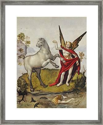Allegory Framed Print by Piero di Cosimo