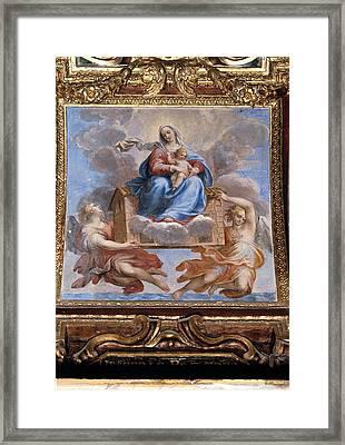 Allegrini Francesco, Madonna Of Loreto Framed Print by Everett