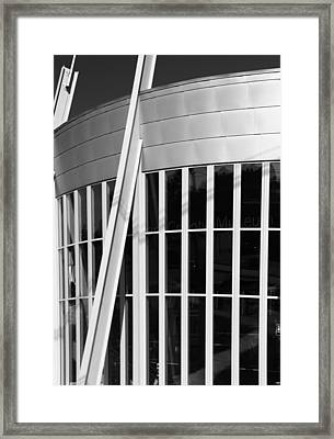 Allen County Museum Black And White Framed Print by Dan Sproul