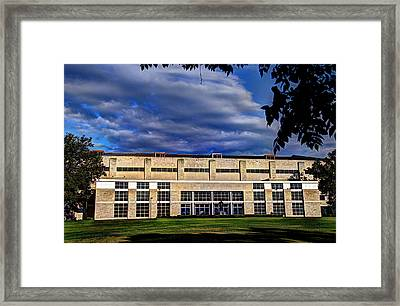Allen Fieldhouse At Daybreak Framed Print