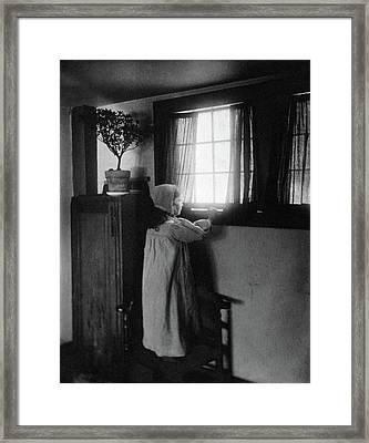 Allen Good Morning, C1900 Framed Print by Granger